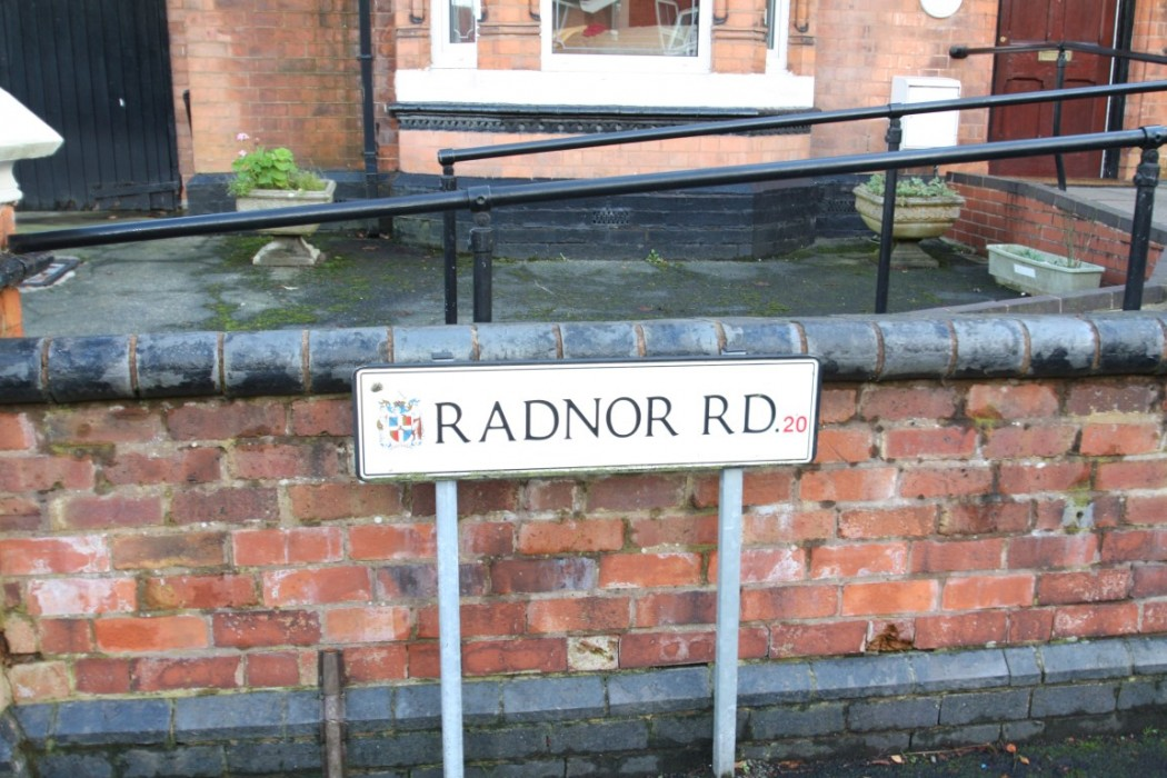 Radnor Road Road Sign